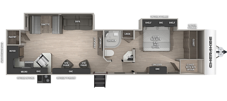 304RKBL Floorplan