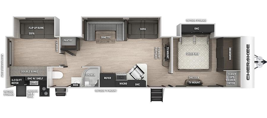 324TSBL Floorplan