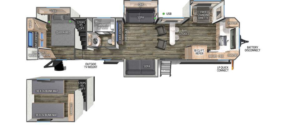 39SR Floorplan