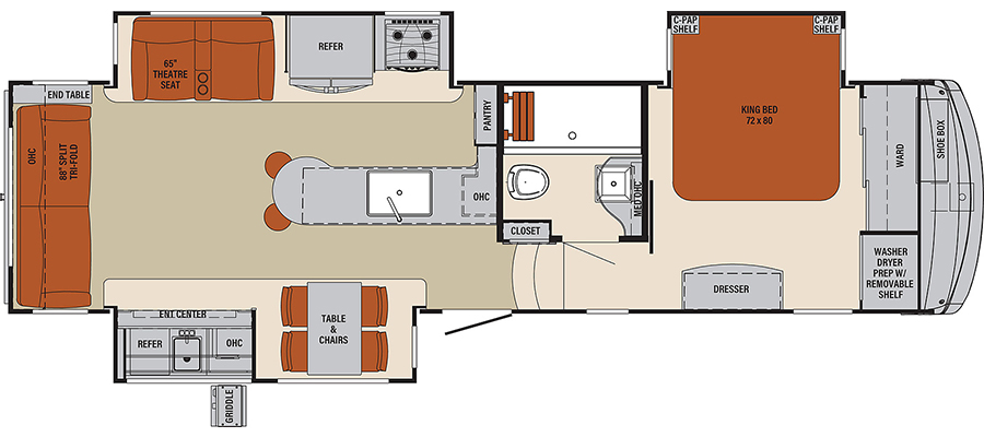 298RL Floorplan