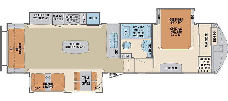 320RS Floorplan