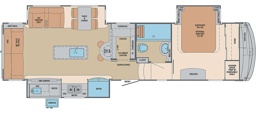 328RL Floorplan