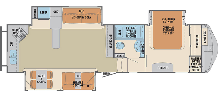 340RK Floorplan