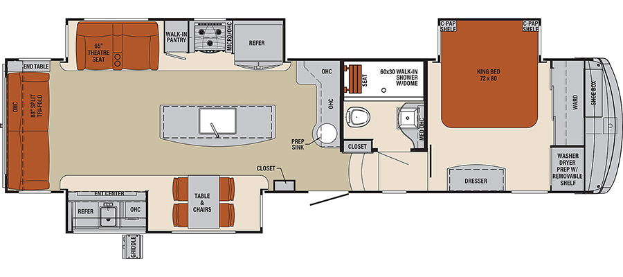 366RL Floorplan