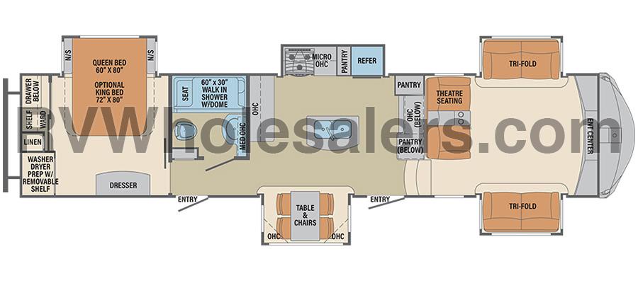 381FL Floorplan