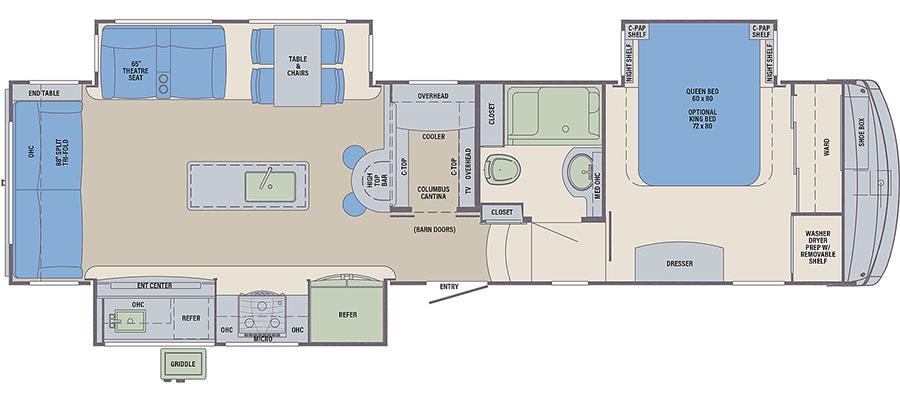 328RLC Floorplan