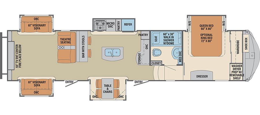 384RDC Floorplan