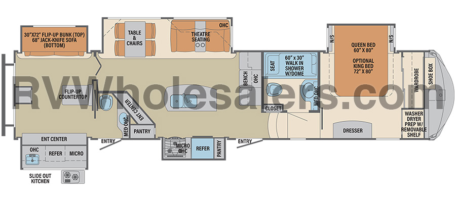 385BHC Floorplan