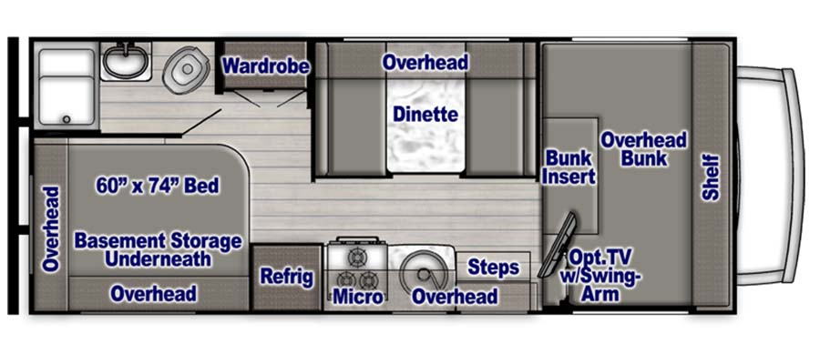 Conquest Limited Edition 6237LE floorplan image