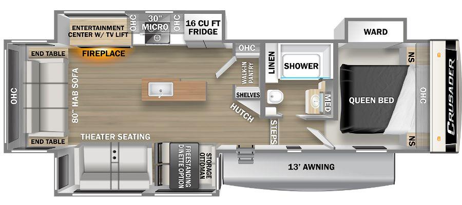 305RLP Floorplan