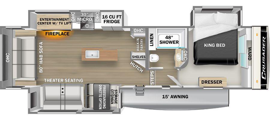 335RLP Floorplan