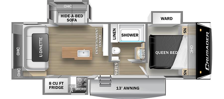 25RD Floorplan