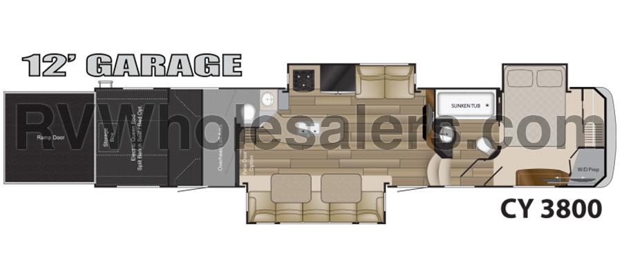 2012 Cyclone 3800 - stock no. 245518 - image  - thumbnail