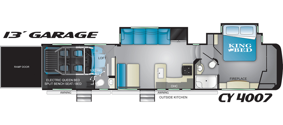 Cyclone 4007 floorplan image