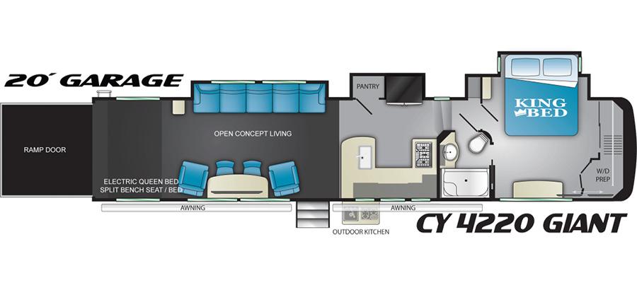 2020 Cyclone 4220 - stock no. X001170 - image  - thumbnail