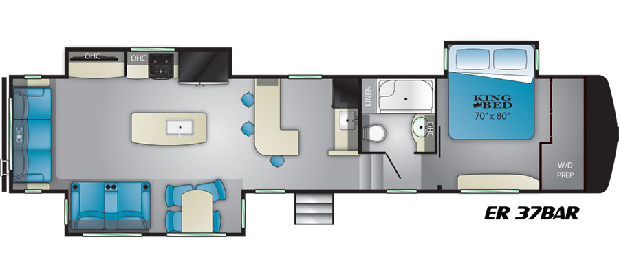 37BAR Floorplan