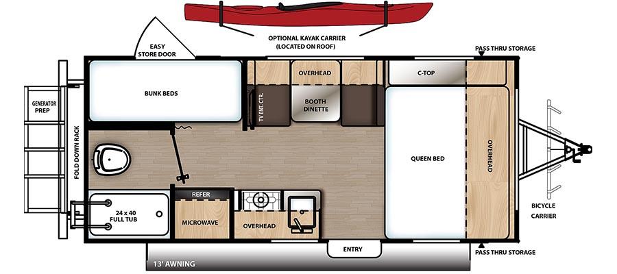 192BH Floorplan