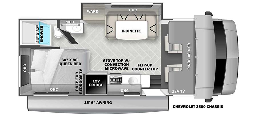 2151SC Floorplan