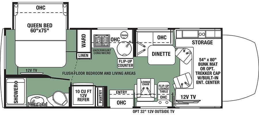2401QSDCN Floorplan