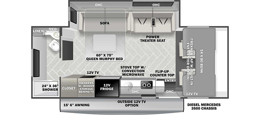 2022 Forest River Forester MBS 2401T Class C Motorhome: image 1