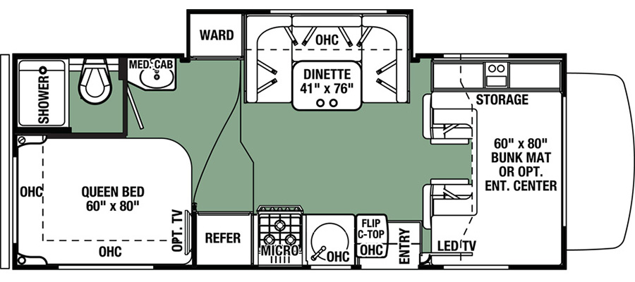 2291SF Floorplan