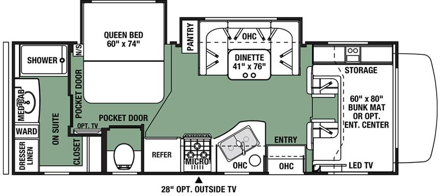 2421MSF Floorplan