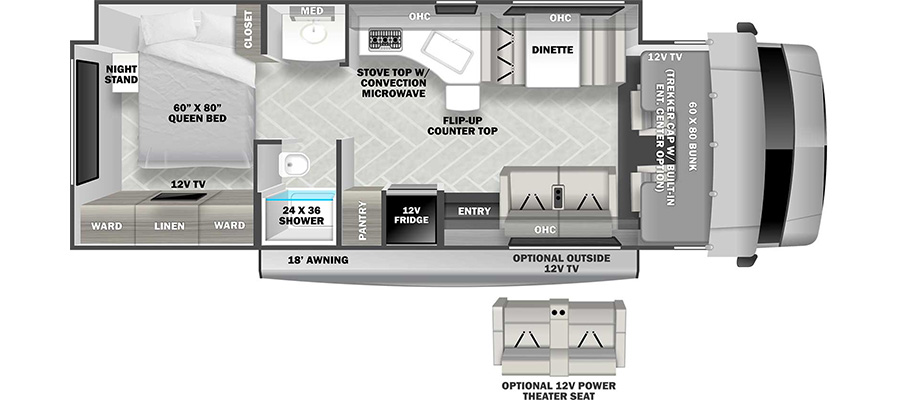 3051SF Floorplan