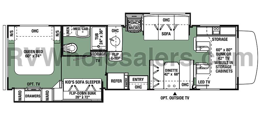 3171DS Floorplan