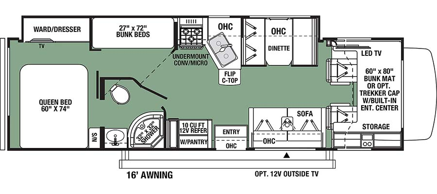Forester 3271SF floorplan image