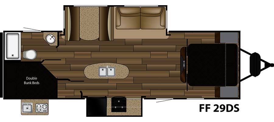 Cruiser RV Fun Finder Xtreme Lite Travel Trailer