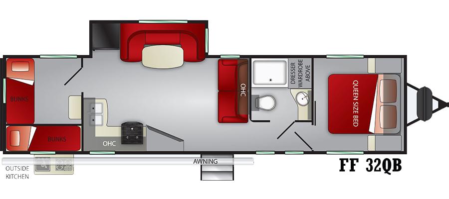 32QB Floorplan