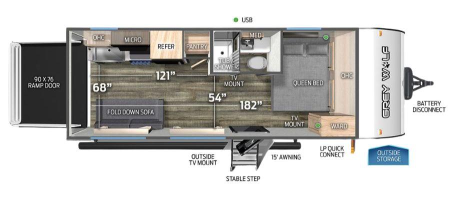 18RRBL Floorplan