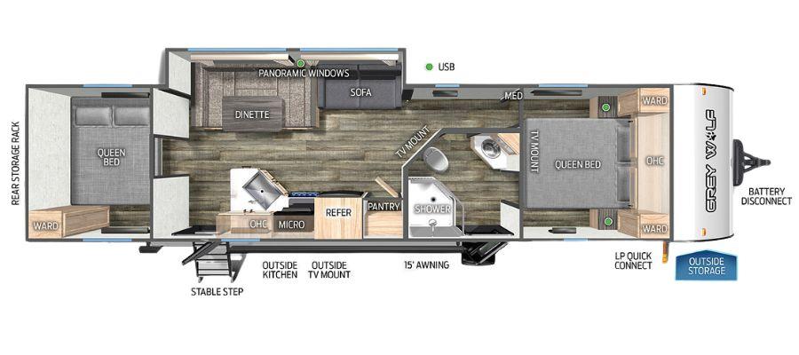 29QBL Floorplan