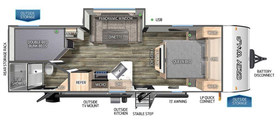 23DBH Floorplan