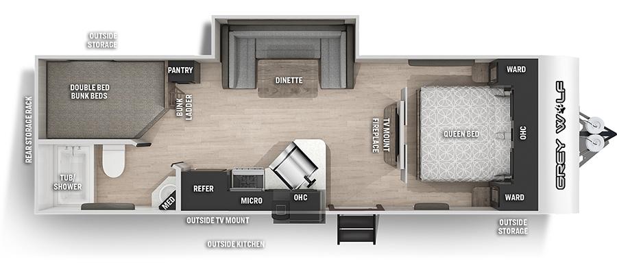 23DBHBL Floorplan