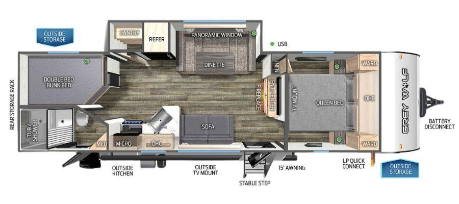 26BRB Floorplan