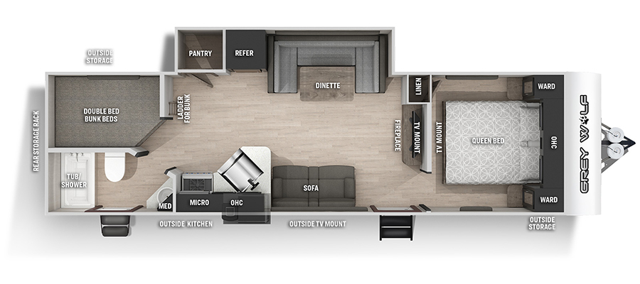 26BRBBL Floorplan