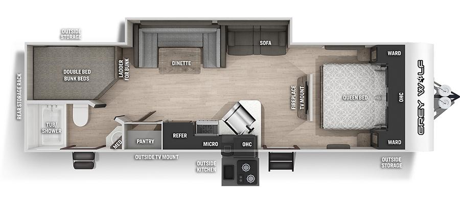 26DBHBL Floorplan