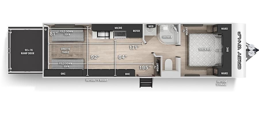 26RRBL Floorplan