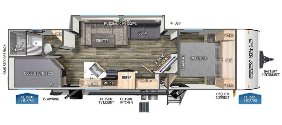 27DBH Floorplan