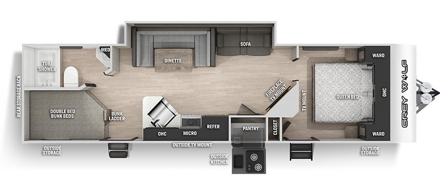 27DBHBL Floorplan