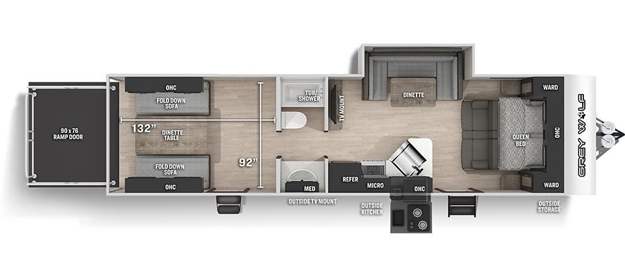 27RRBL Floorplan