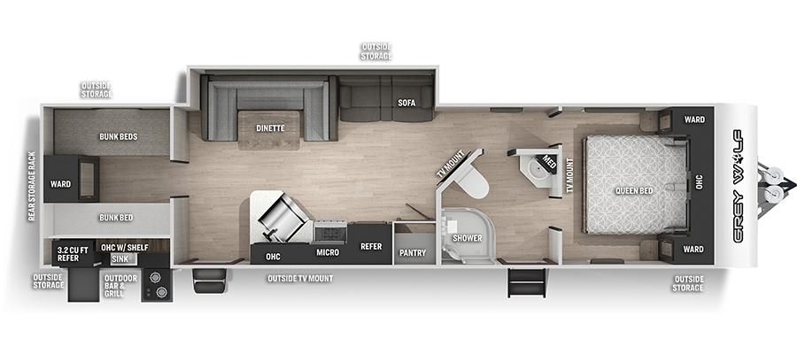 29TEBL Floorplan