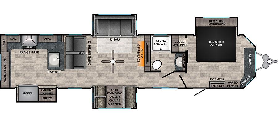 380RKS Floorplan