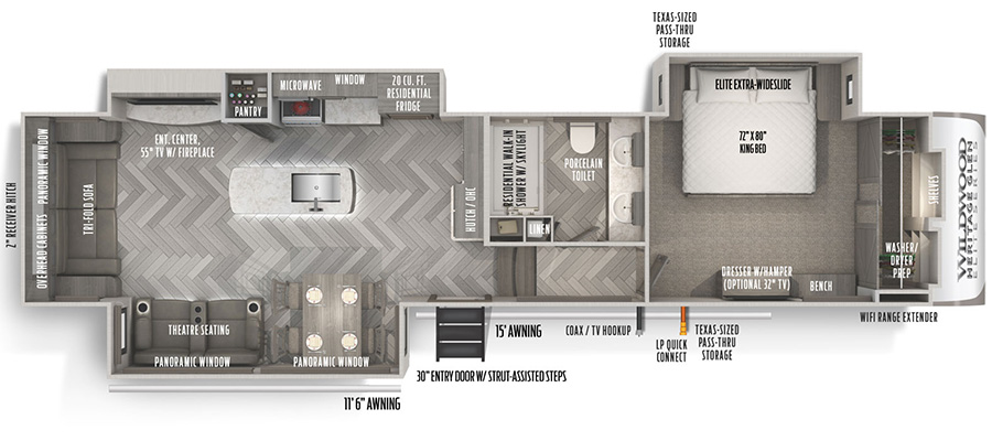 34RL Floorplan