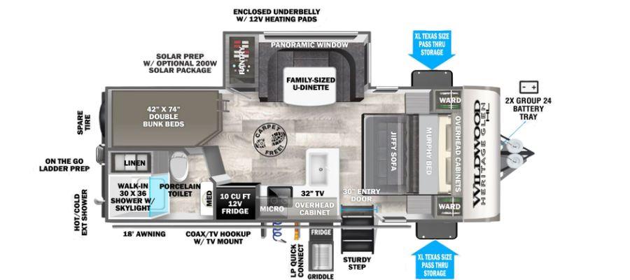 20BHHL Floorplan