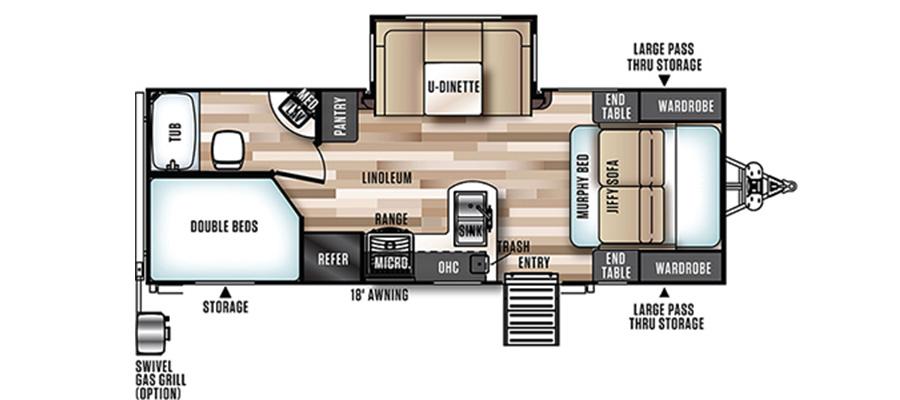 24BHHL Floorplan