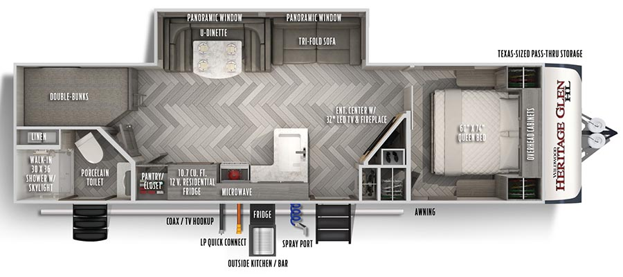 26BHHL Floorplan