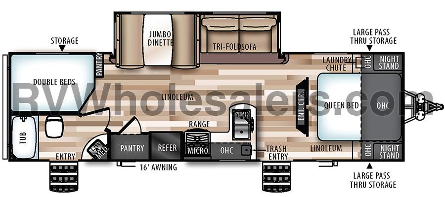 27BH Floorplan