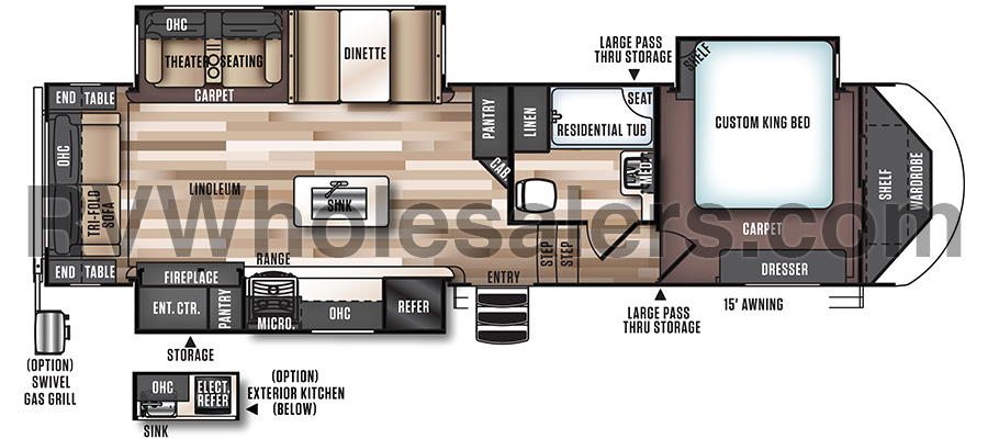 276RLIS Floorplan